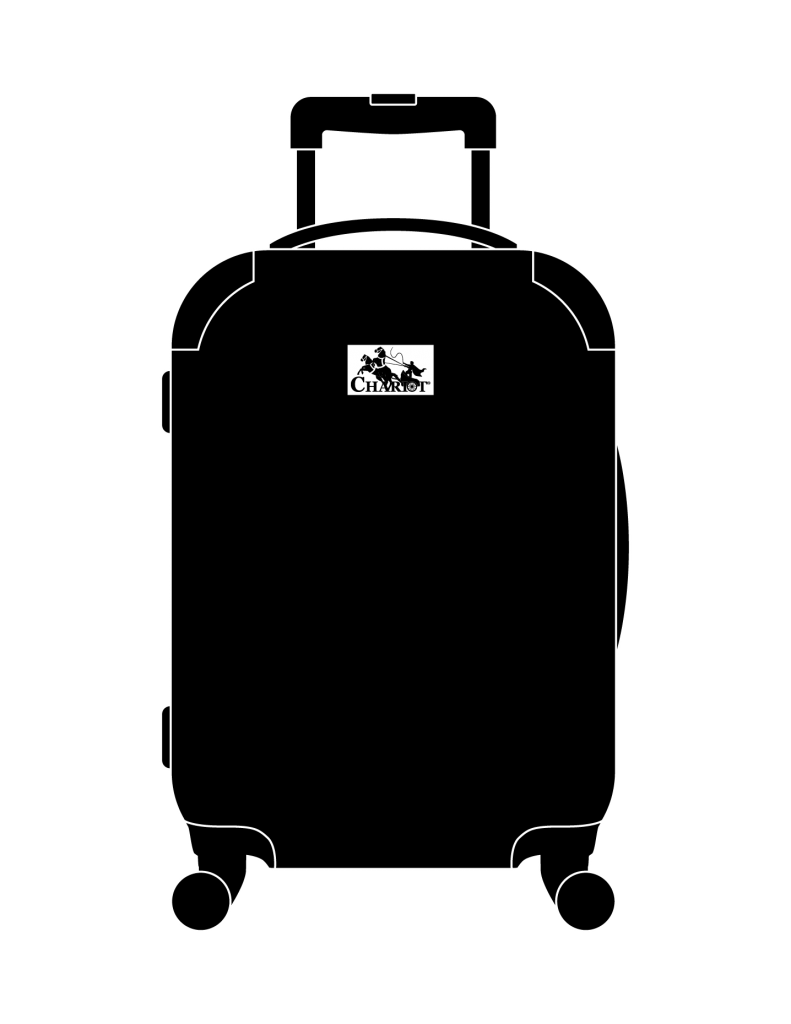 Chariot Luggage Outline